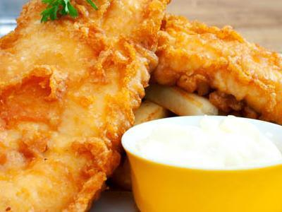 Filety z ryby smażone